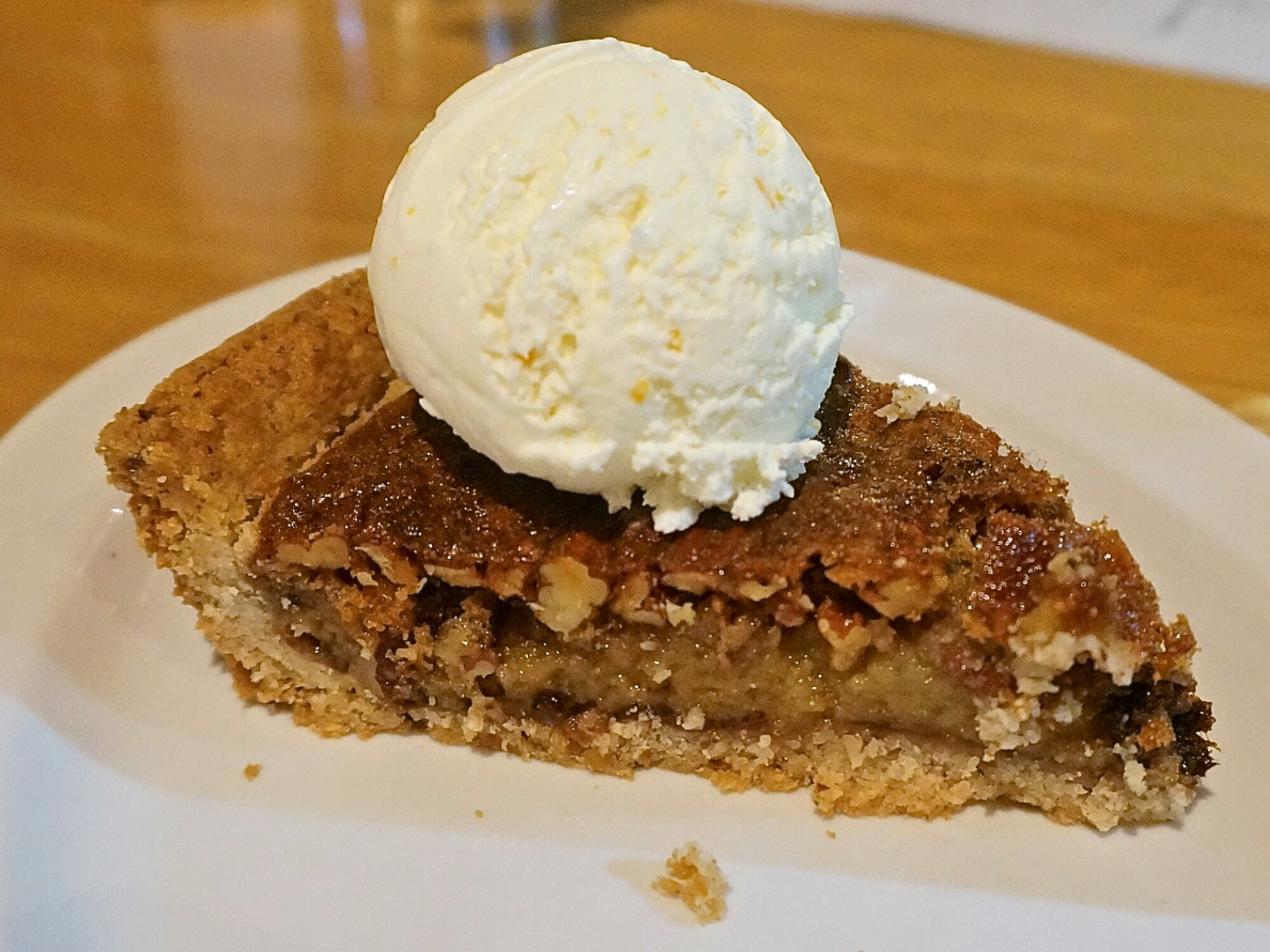... rich cream cheese pecan pie pecan pie at chile pies ice cream