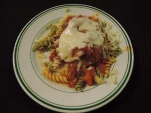 Chicken Parmigiana.