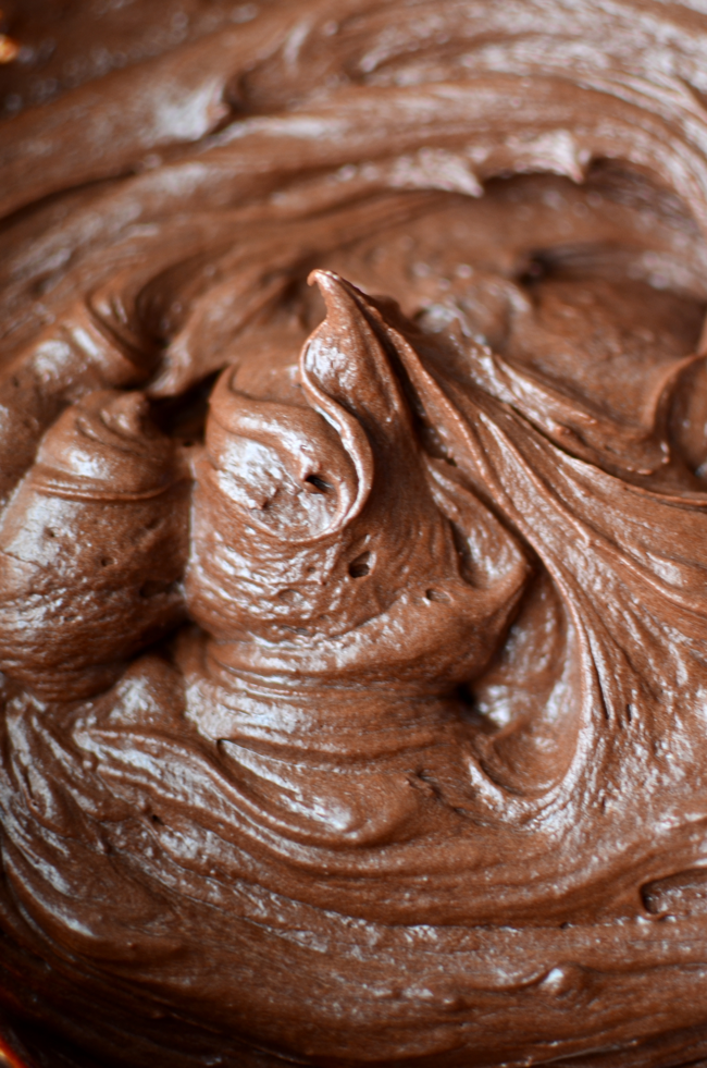 Chewy Gooey Brownies with Creamy Chocolate Frosting ...