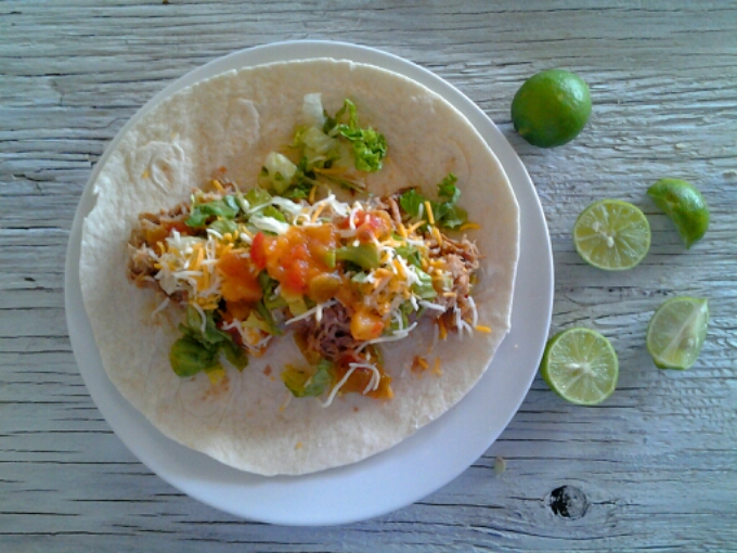 Pulled Pork Tacos with CitrusSalsa