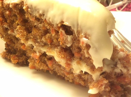 Moist Carrot Cake Recipe With Pecans Brown Sugar
