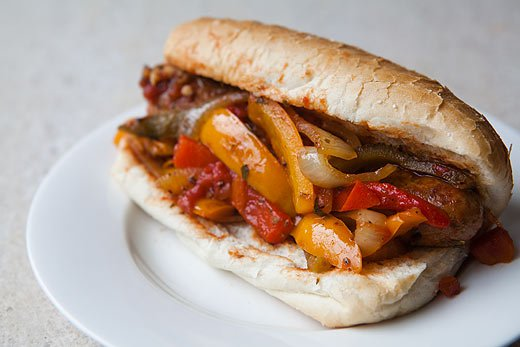 The Art of Beer Cooking: Sausage andPeppers