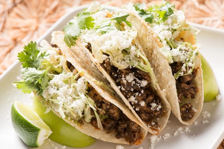 mushroom-blended-beef-tacos