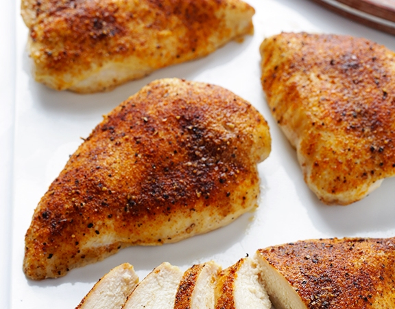 Adobo Seasoned Roast Chicken Breasts Dawns Ad Lib Com
