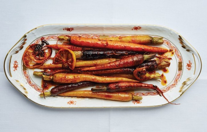 harissa-and-maple-roasted-carrots