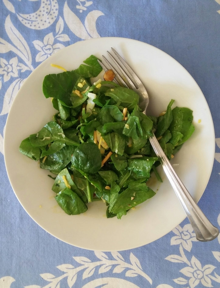 Spinach Salad with Honey Mustard Dressing – dawns-ad-lib.com®